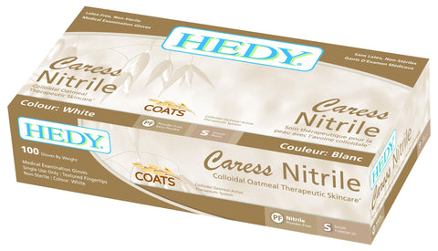 Hedy Caress Nitrile Examination Gloves (110NOW) Gloves - Blue & Green Inc.