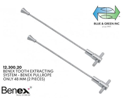 Benex PullRope 48mm, 2 pieces (12.300.20) Benex part - Blue & Green Inc.
