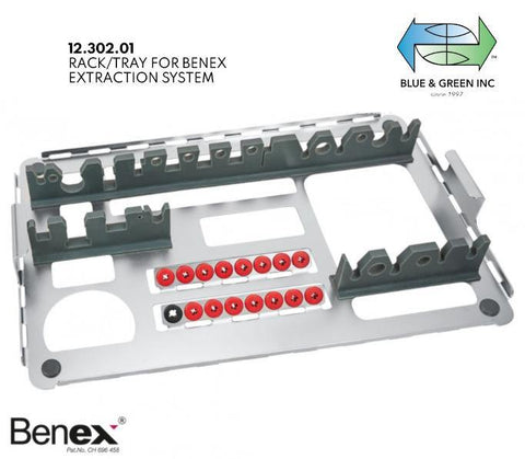 Benex Extraction II (Wash Tray) (12.302.01) Extraction - Blue & Green Inc.