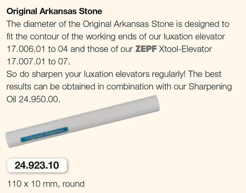 Original Arkansas Stone (24.923.10) Sharpening Stone - Blue & Green Inc.