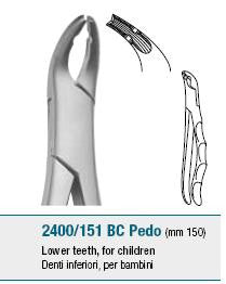 Childrens Forceps, Lower Teeth (2400/151 BC) Forceps - Blue & Green Inc.
