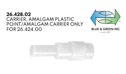 Amalgam Plastic Point (26.428.02)  - Blue & Green Inc.