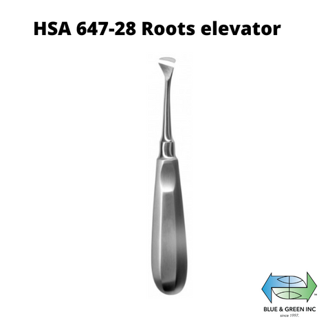 Cryer Roots elevator, right (HSA 647-28) Elevator - Blue & Green Inc.