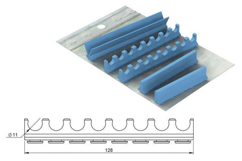 Silicone refill for: Cassette Mixed 18 x 20 (182057) Cassette - Blue & Green Inc.