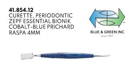 Prichard Curette, Periodontic (41.854.12)  - Blue & Green Inc.