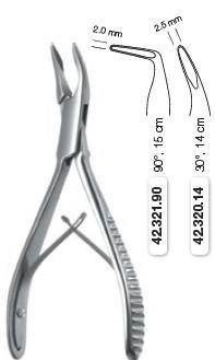 Mini Friedmann Bone Rongeur Forceps (42.320.14) Rongeurs - Blue & Green Inc.