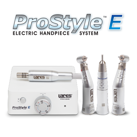 ProStyle E Electric Handpiece System - Blue & Green Inc.