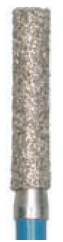 837L (111) - Diamond Bur, Cylindrical, Shoulder Preparation (Pkg of 6) Diamond Bur - Blue & Green Inc.