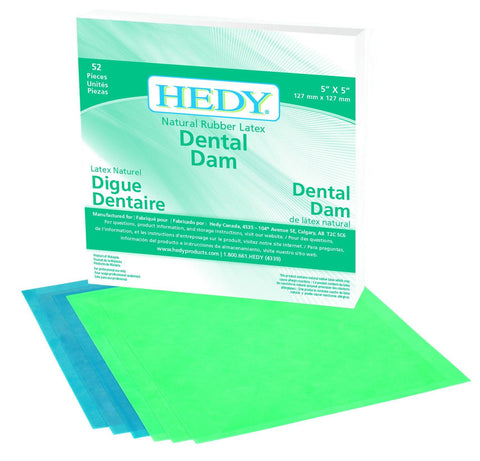 Latex Dental Dam Dental Dam - Blue & Green Inc.