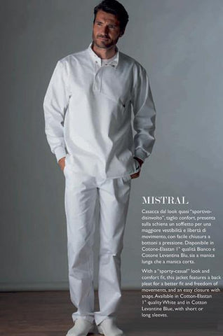 Uniform - Mistral (Mens) Uniform - Blue & Green Inc.