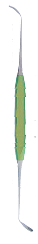Sinus Lift Elevator, Double Ended, Blunt 3.0mm (41.822.03) Sinus Lift - Blue & Green Inc.
