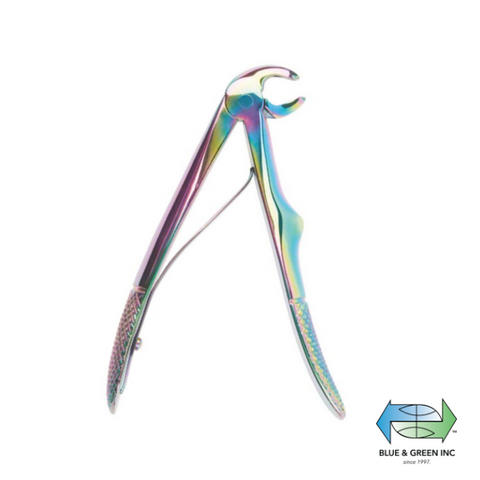 Klein Forceps, Upper roots with spring (Z HSA 356-07) Forceps - Blue & Green Inc.