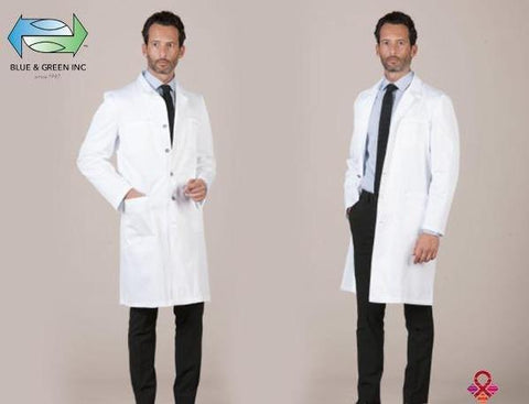 Lab Coat Bellagio (Uniform Gentlemen) Uniform - Blue & Green Inc.