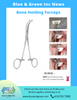 Bone holding forceps 23.105.50 bone holding forceps - Blue & Green Inc.