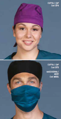 Cap (CF4) Uniform - Blue & Green Inc.