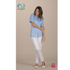 Macao (Uniform Ladies) Uniform - Blue & Green Inc.