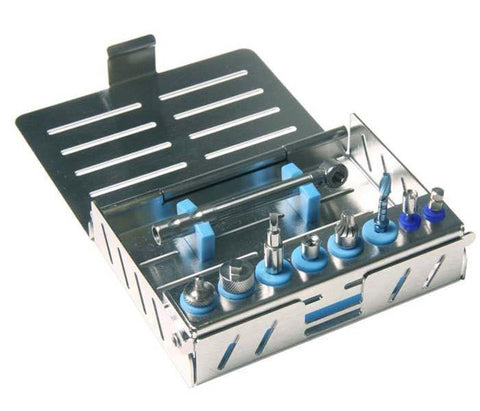 Implant Cassette (500301) Organizer - Blue & Green Inc.