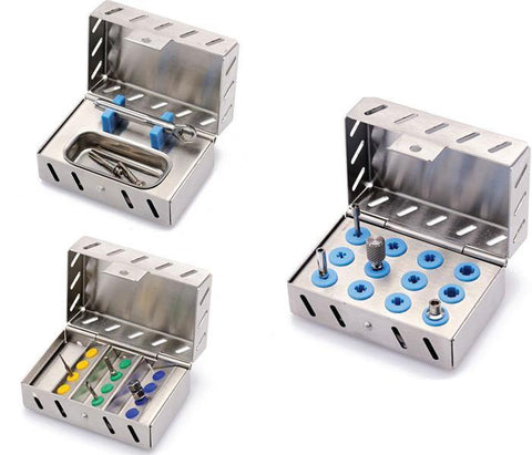 Mini Implant Kit N° 5 (500850-T, 500850-P, 500850-C) Organizer - Blue & Green Inc.