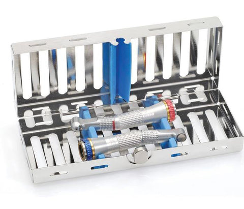 Cassette 18 x 7 for Handpieces (182079) Cassette - Blue & Green Inc.
