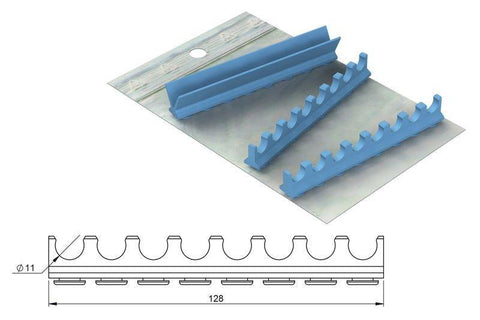 Silicone refill for: Cassette 18 x 14, 8 Instruments (182066) Cassette - Blue & Green Inc.