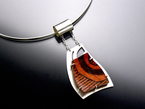 anasazi red pendant