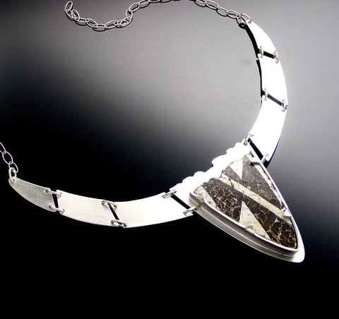 anasazi black & white necklace
