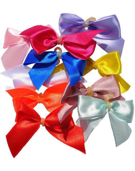 Dog hairbows in assorted colors