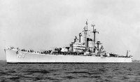 USS Des Moines CA-134. Date and location unknown