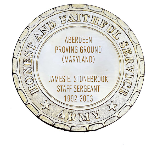 Army Plaque - Aberdeen Proving Ground