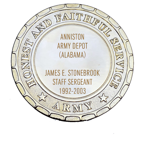 Army Plaque - Anniston Army Depot