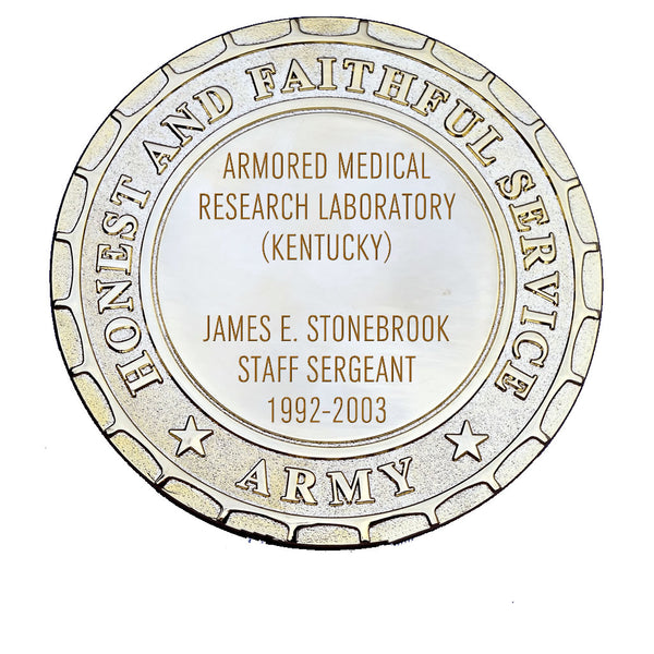 Army Plaque - Armored Medical Research Laboratory