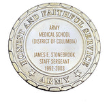 Army Plaque - Army Medical School