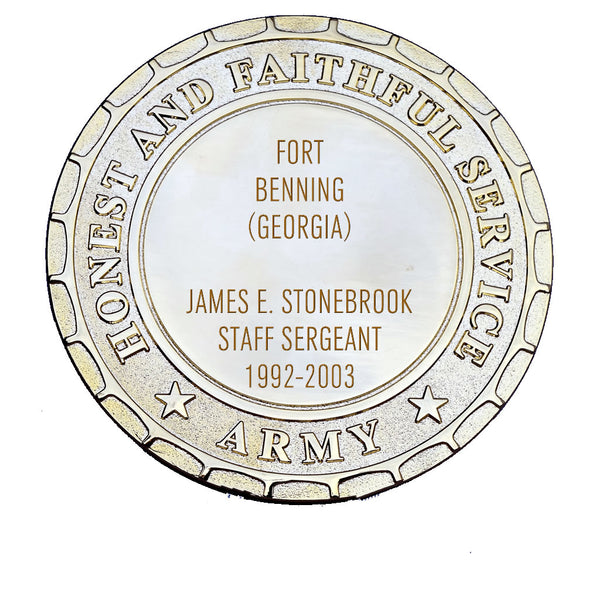 Army Plaque - Fort Benning