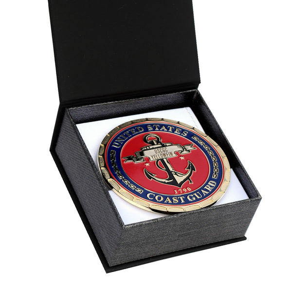 USCGC YELLOWFIN WPB-87319 COAST GUARD PLAQUE