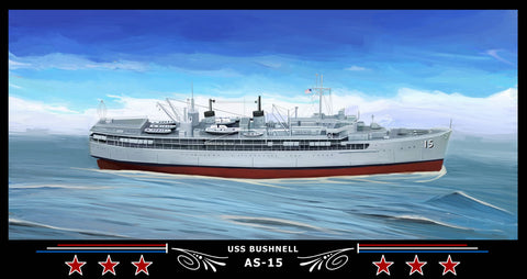 USS Bushnell AS-15 Art Print