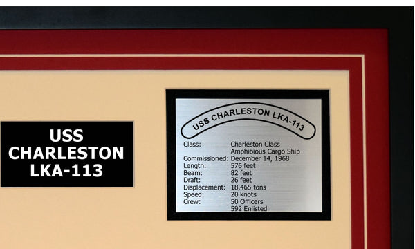USS CHARLESTON LKA-113 Detailed Image B
