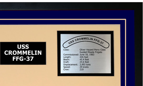 USS CROMMELIN FFG-37 Detailed Image A