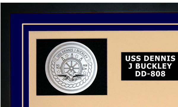 USS DENNIS J BUCKLEY DD-808 Detailed Image A