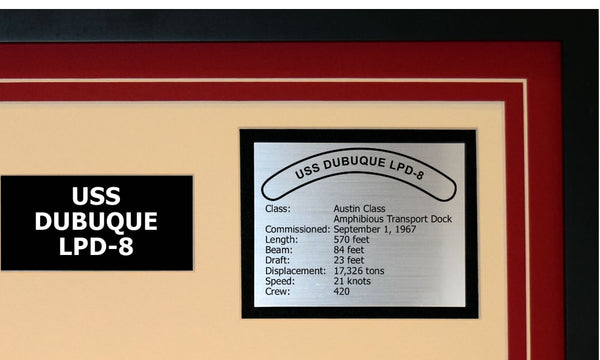 USS DUBUQUE LPD-8 Detailed Image B
