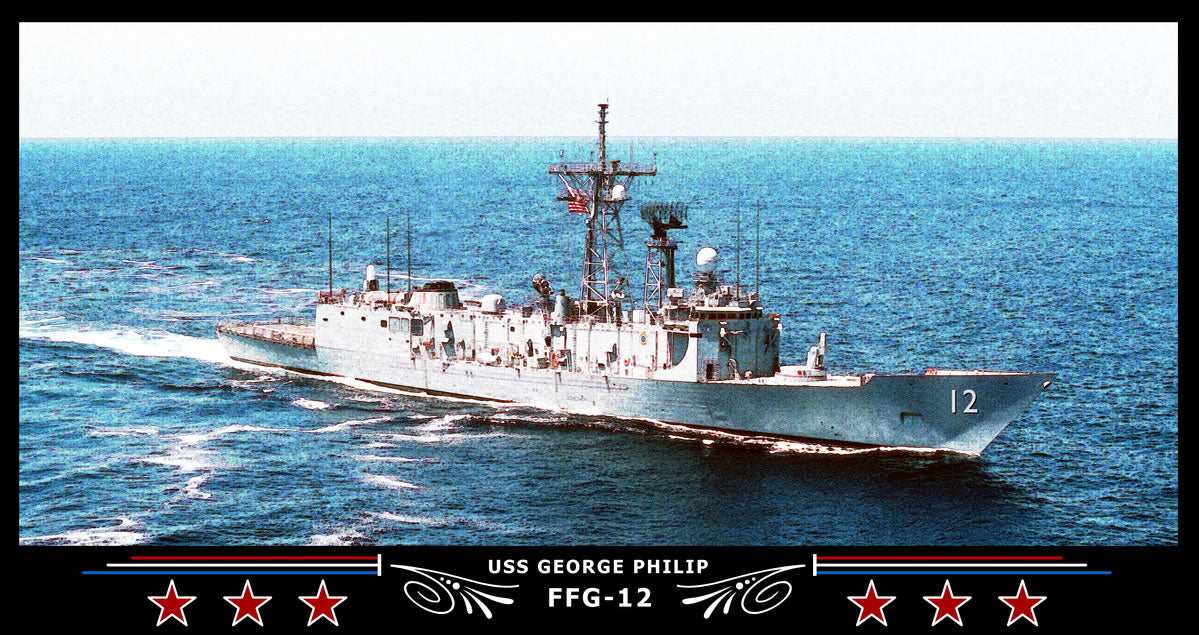 USS George Philip FFG-12 Art Print