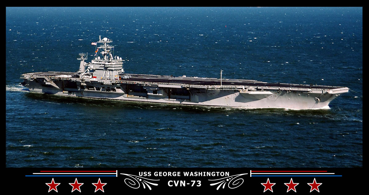 USS George Washington CVN-73 Art Print