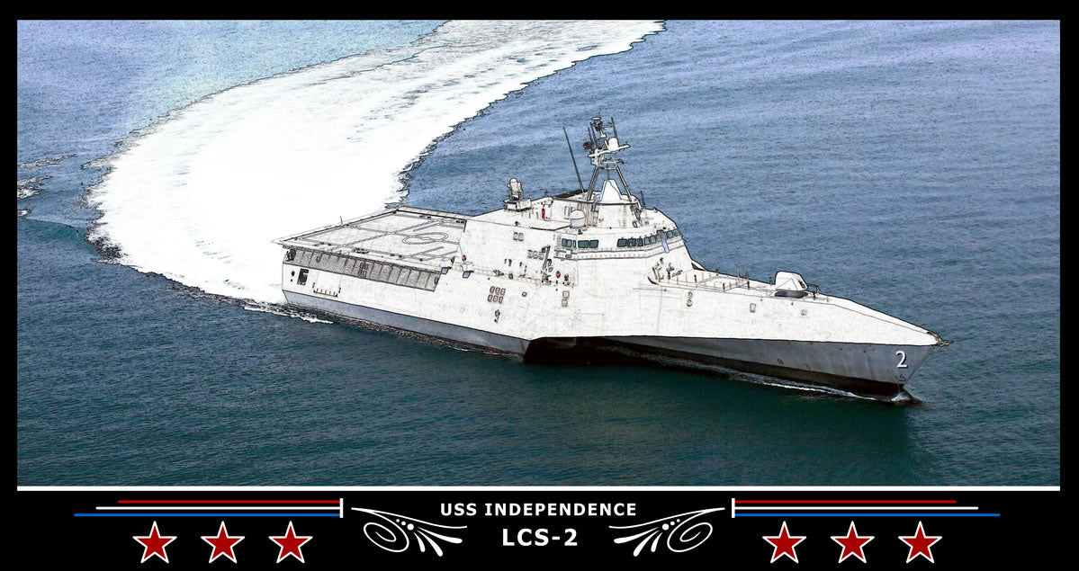 USS Independence LCS-2 Art Print