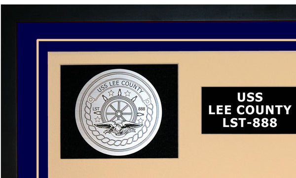 USS LEE COUNTY LST-888 Detailed Image A