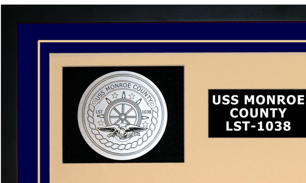 USS MONROE COUNTY LST-1038 Detailed Image A
