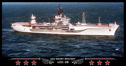 USS Mount Whitney LCC-20 Art Print