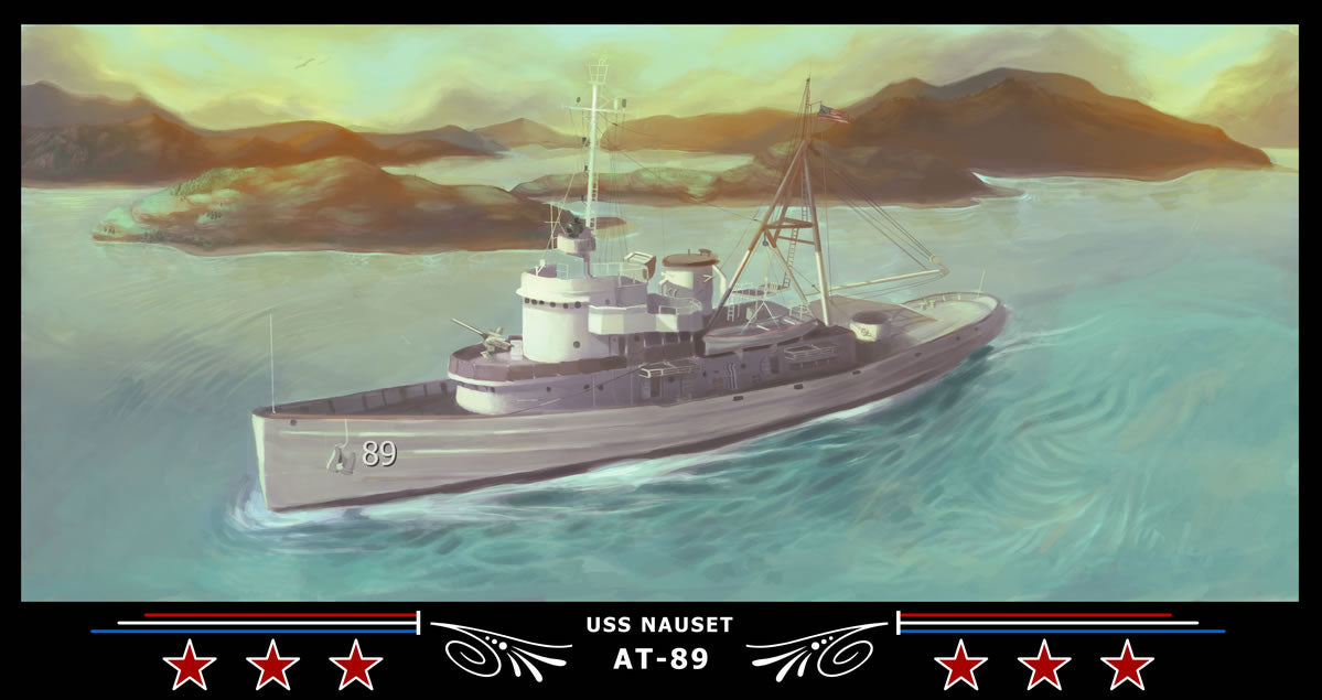 USS Nauset AT-89 Art Print