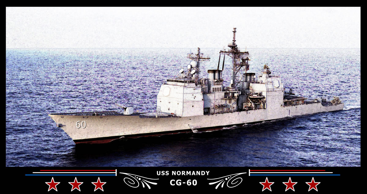 USS Normandy CG-60 Art Print
