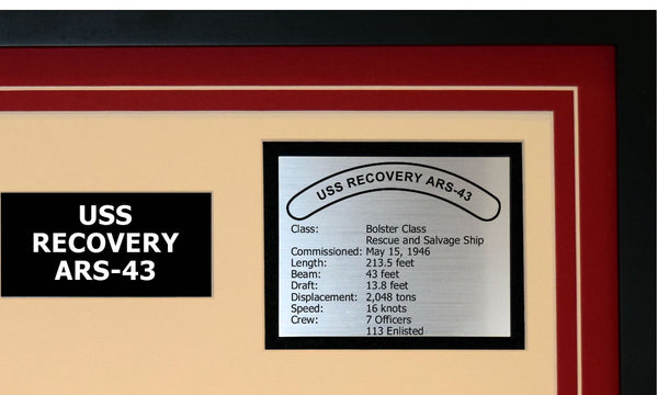 USS RECOVERY ARS-43 Detailed Image B