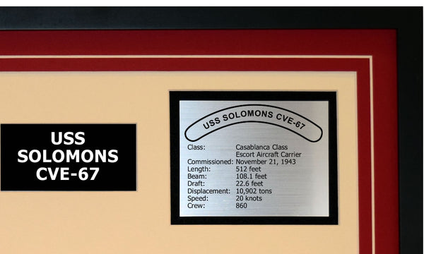 USS SOLOMONS CVE-67 Detailed Image B