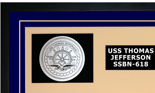 USS THOMAS JEFFERSON SSBN-618 Detailed Image A